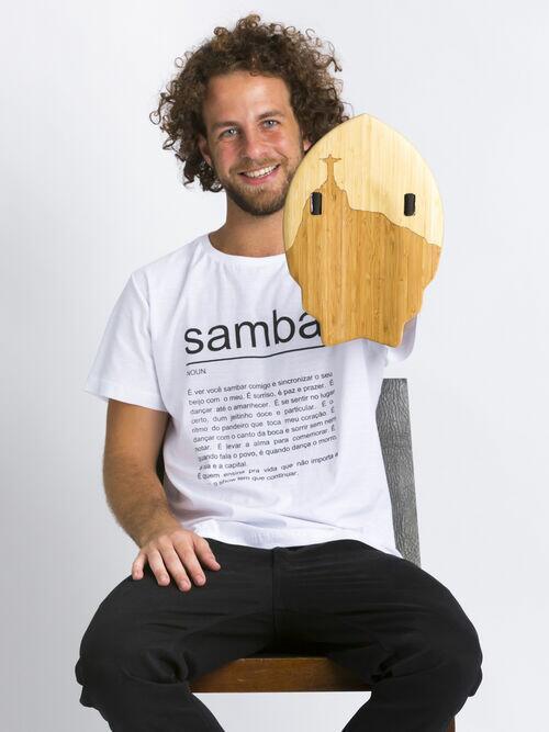 CAMISETA SAMBA SIGNIFICADO