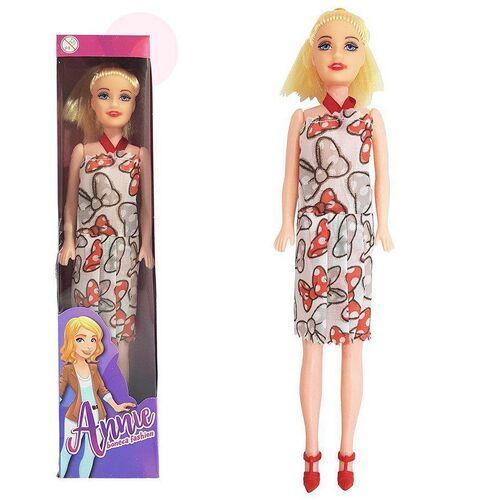 Boneca com Sapato Brinquedo Angel A--ie - Bonequinha Infantil para Criança Menina
