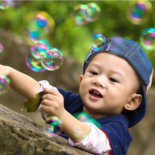 Caixa com 12 Bolha de Sabão para Criança e Adulto Lembrancinha de Festa Infantil selo Inmetro