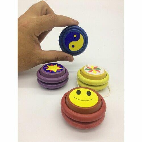 Brinquedo IO IO Raiz Ideal Para crianças e Adultos YOYO Vai e vem