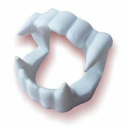 Dentadura de Vampiro Brinquedo para Criança Infantil e Adulto