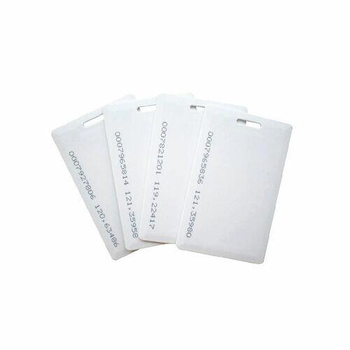 Cartão de Proximidade RFID Branco - 200 unidades