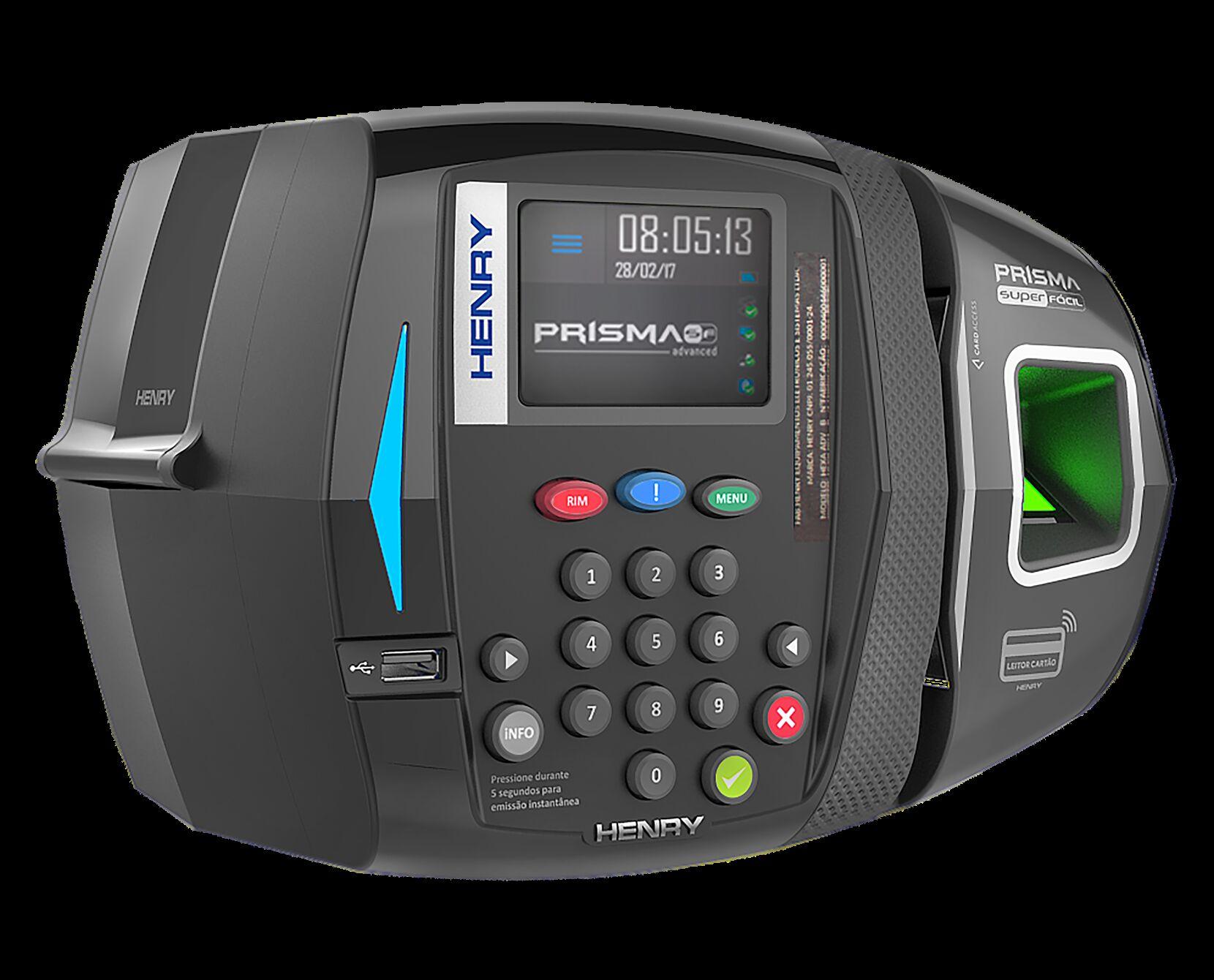 Relógio de Ponto Biométrico com Software Grátis