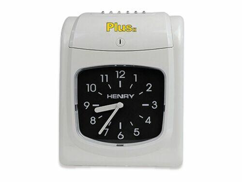 Relógio de Ponto Henry Plus II