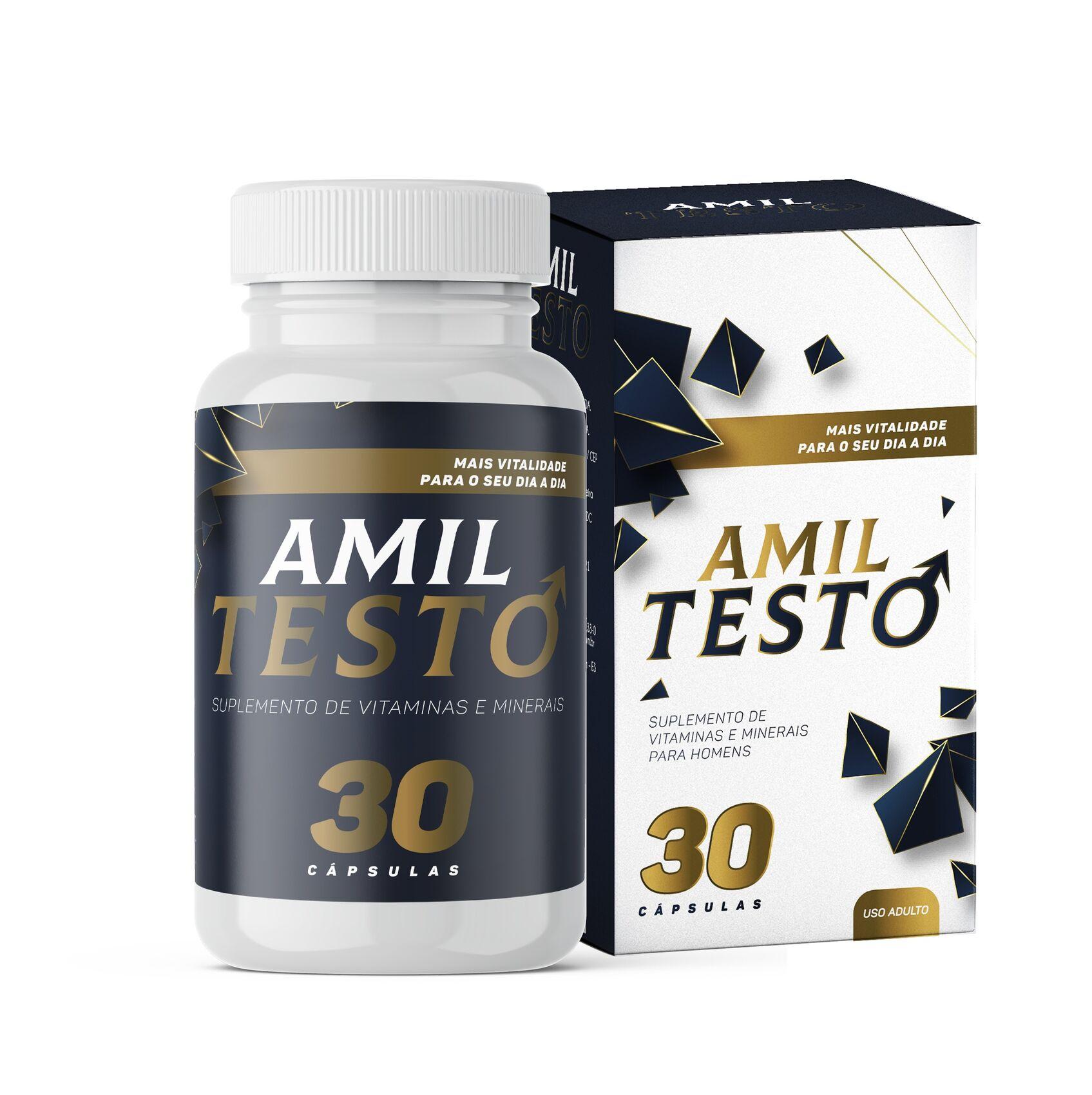 AmilTesto - 30 Cápsulas
