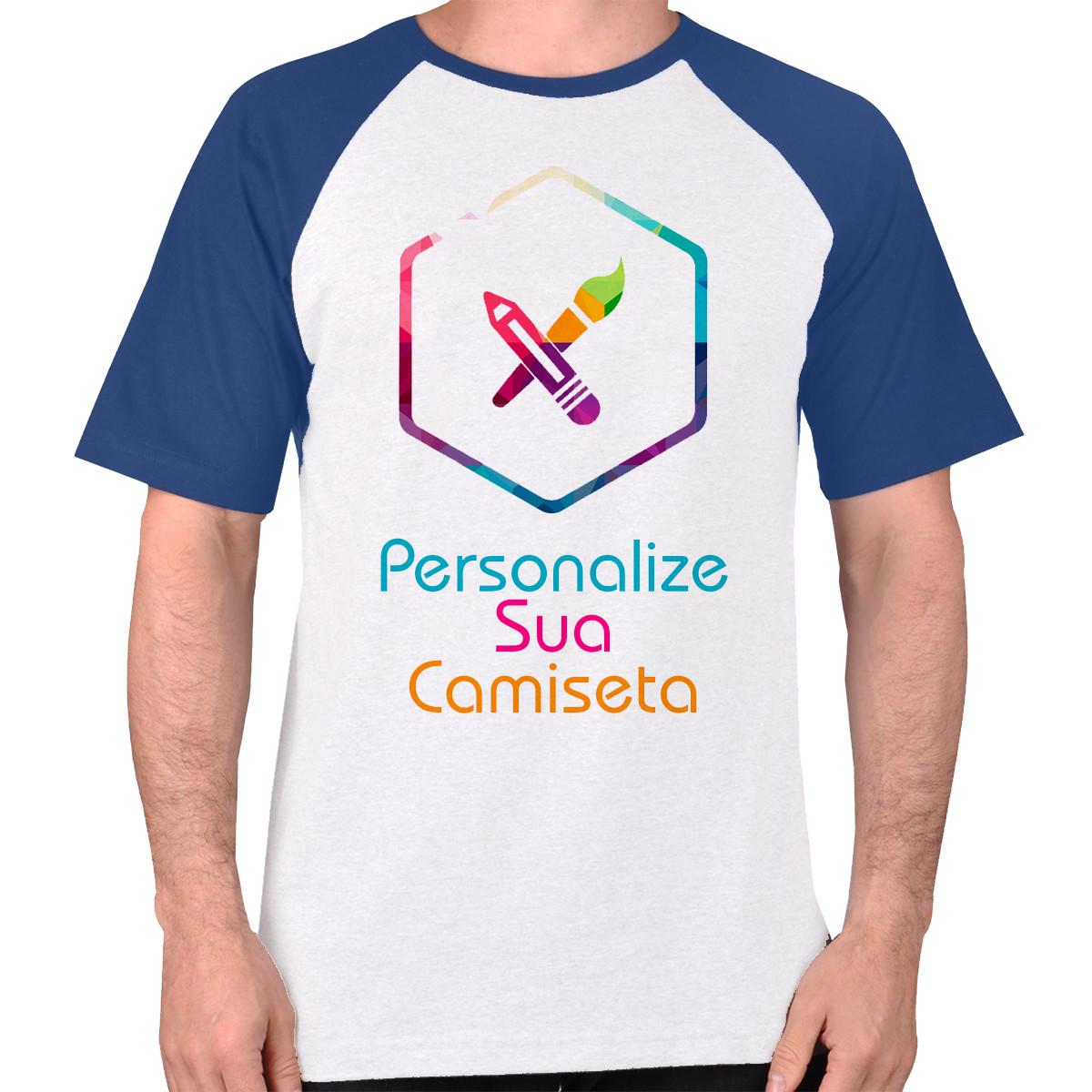 Camiseta Raglan personalizada do seu jeito