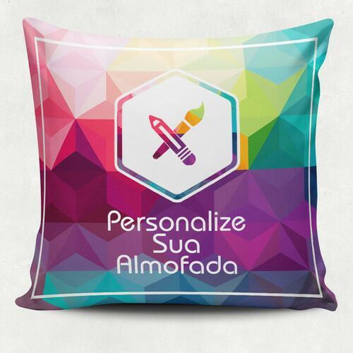 Almofada Quadrada personalizada do seu jeito