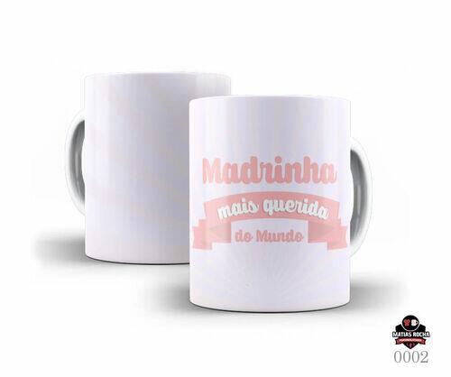 Caneca Personalizada para Madrinha