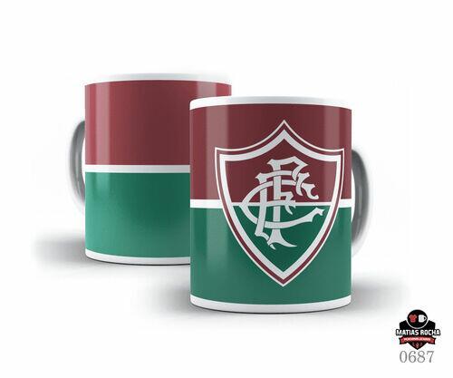 Caneca personalizada Futebol time do Fluminense