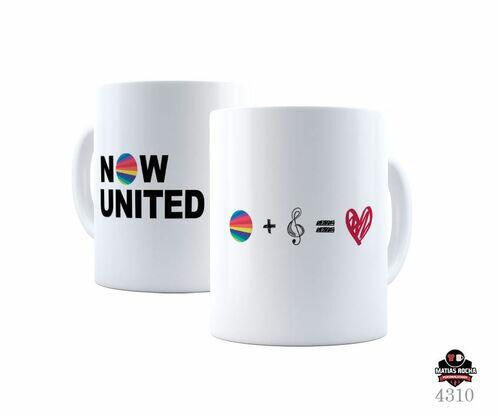 Caneca Now United personalizada em promoção