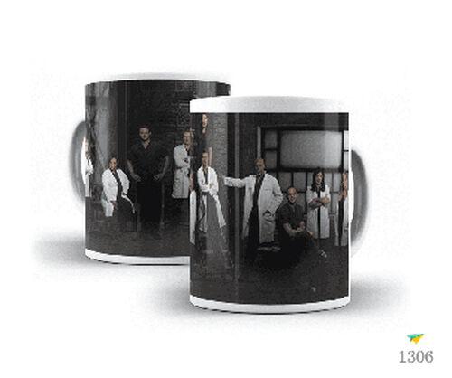 Caneca Série Grey's Anatomy Netflix