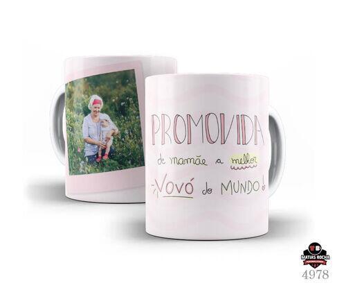 Caneca personaliza para  Avó em Promoção