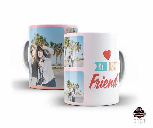 Caneca Personalizada Amigos com foto
