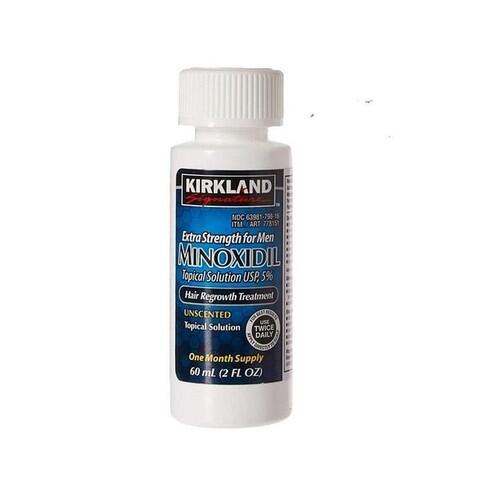 MINOXIDIL KIRKLAND 5% (1 Mês) - FRETE GRÁTIS