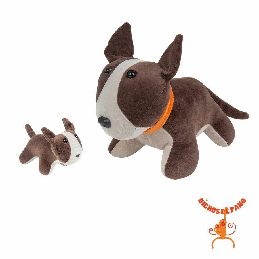 Bull Terrier Grávida com 1 Filhote