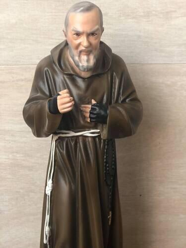 Padre Pio 30cm - Resina