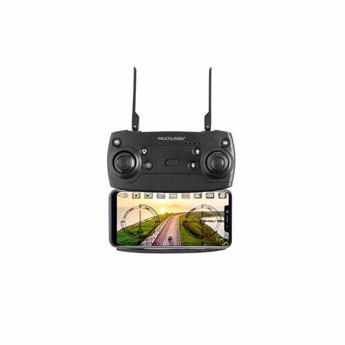 Drone Multilaser Eagle FPV Câmera HD 1280P Alcance de 80m