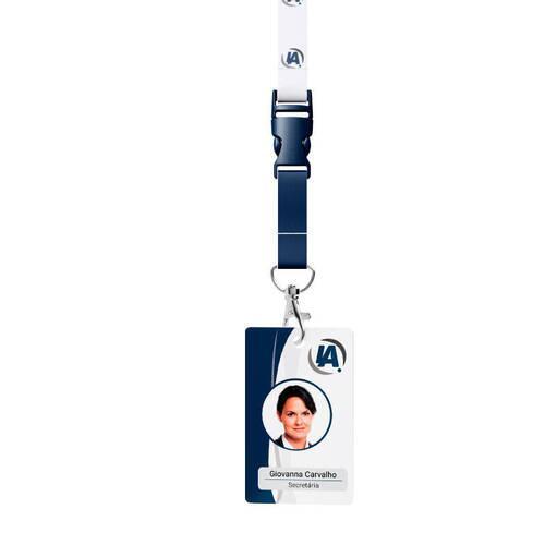 Crachá de Identificação em PVC Personalizado