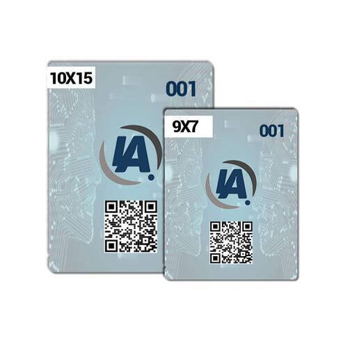 Comanda Eletrônica PVC - Personalizada