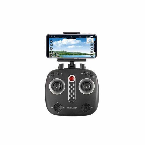 Drone Multilaser Hawk GPS FPV Câmera HD 1280P Alcance de 150m