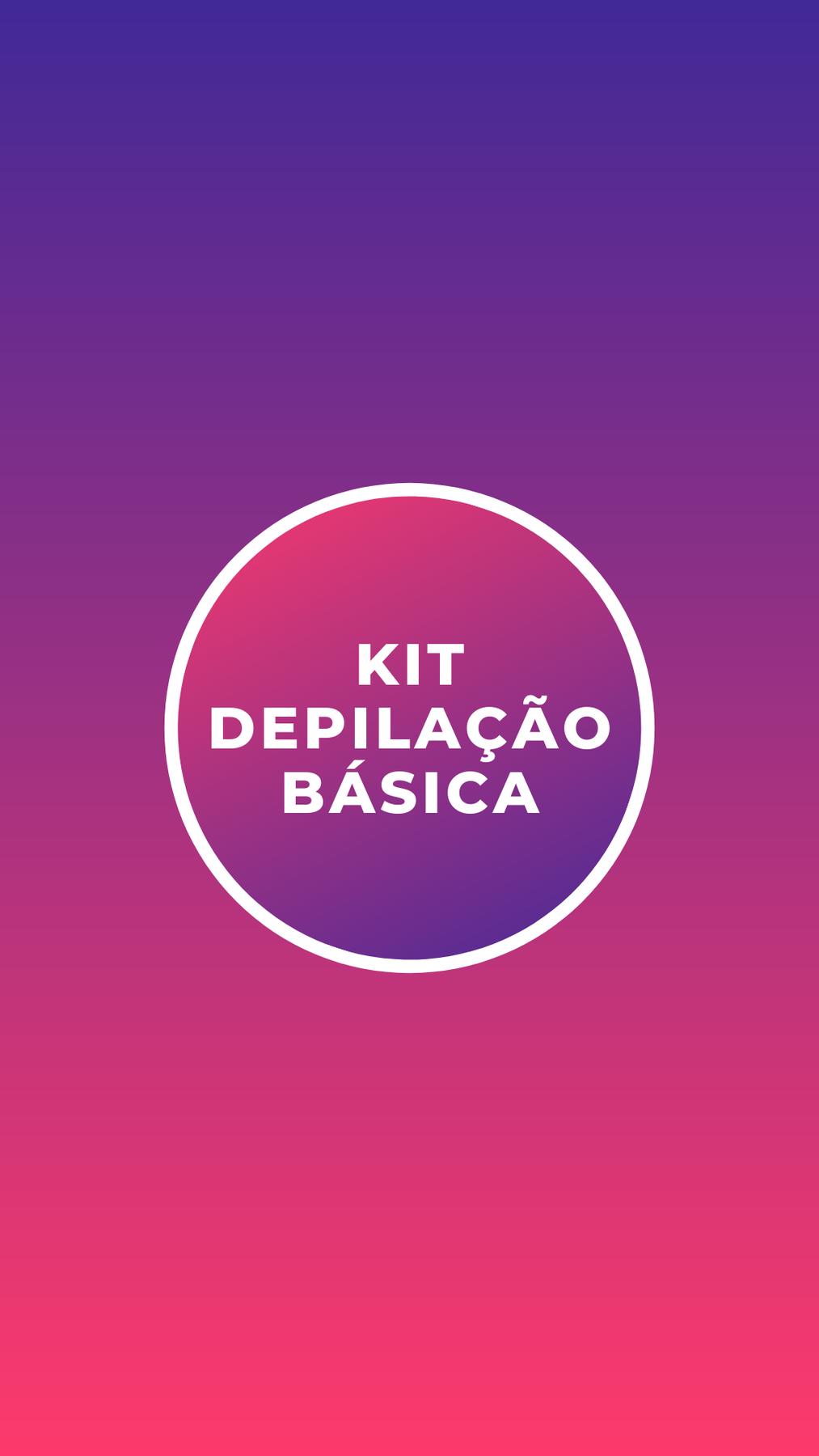 Kit Curso Depilação Básica com Cera