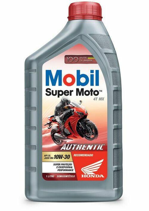 Óleo de Motor para Quadriciclo Honda Fourtrax 420 Mobil Authentic 4T 10W-30