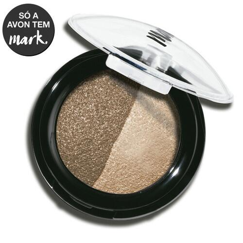 Avon Mark Duo de Sombras para Olhos Baked Indispensável