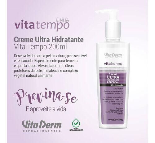 Vita Derm Creme Ultra Hidratante Corporal  200gr