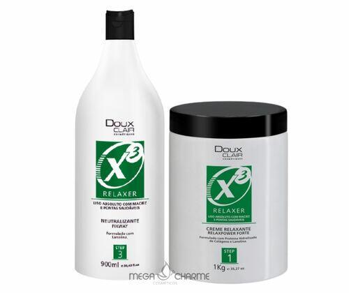 Doux Clair X3 Kit Creme Relaxante + Neutralizante