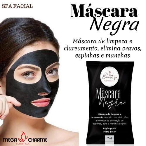 New Beauty Máscara Negra Facial Caixa 70 Sachês
