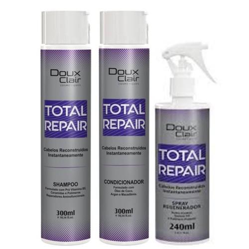 Doux Clair Total Repair Reconstrução Capilar Kit
