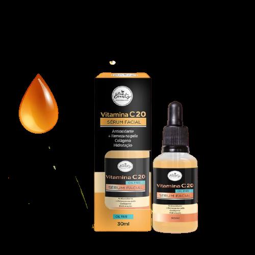 New Beauty Vitamina C 20 Serum Facial Oil Free 30ml