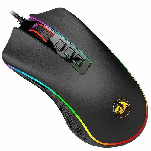 Mouse Gamer Redragon Cobra 10000DPI Preto M711