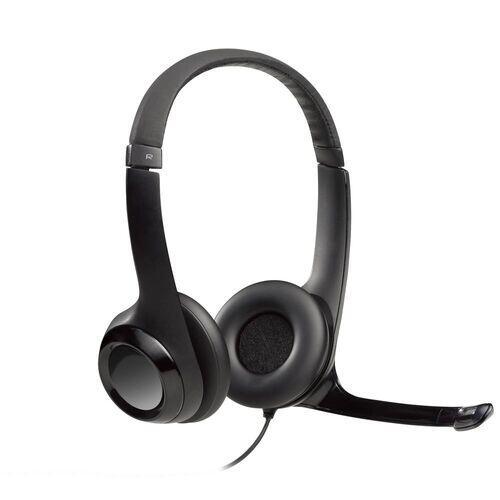 Headset Usb H390 Preto Logitech Com NF