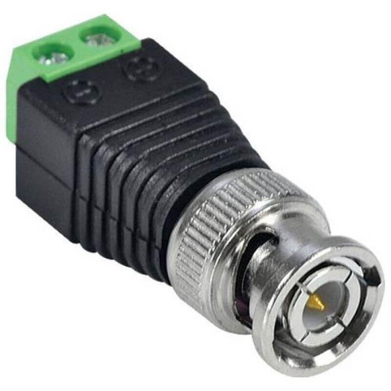 Conector BNC Borne Pacote Com 10 Unidades