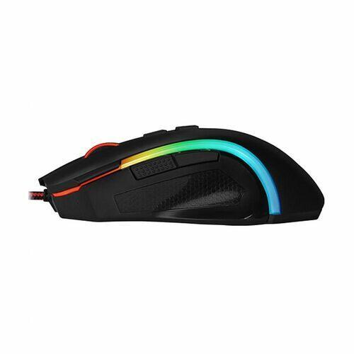 Mouse Gamer Redragon Griffin  RGB 7200DPI Laser Sensor Pixart M607