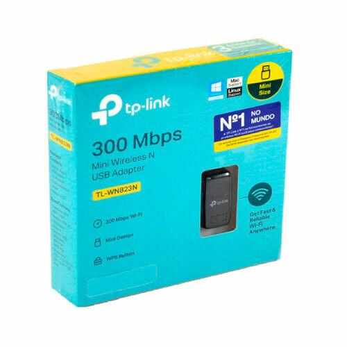 Adaptador Usb Wireless Mini Wifi 300Mbps Tp-Link TL-WN823N