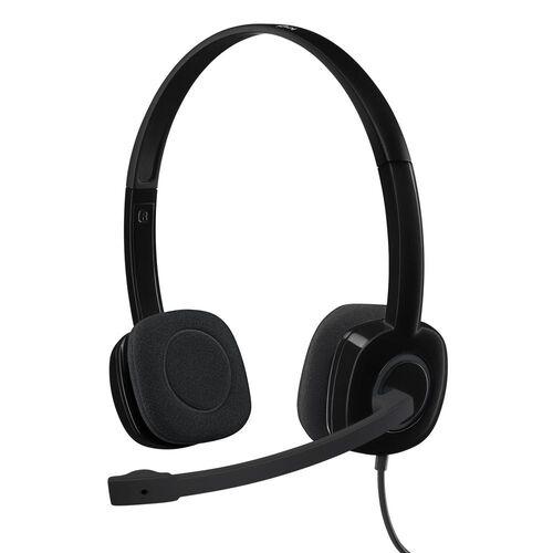Headset P3 H151 Preto Logitech