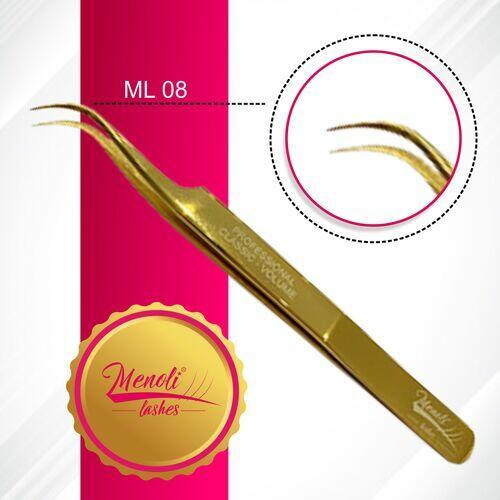 Pinça profissional Menoli Lashes  MOD: ML08