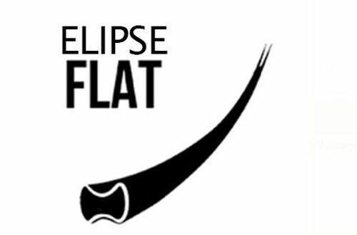 Cílios Menoli Lashes Elipse FLAT 0.25mm 12 Linhas fio a fio