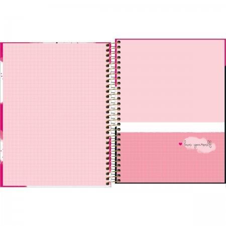 Agenda Planner 2022 Love Pink espiral Tilbra