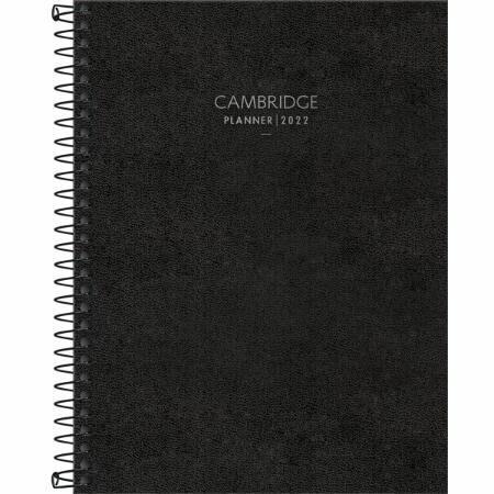 Agenda Planner Executivo Espiral Cambridge 2022 Tilibra