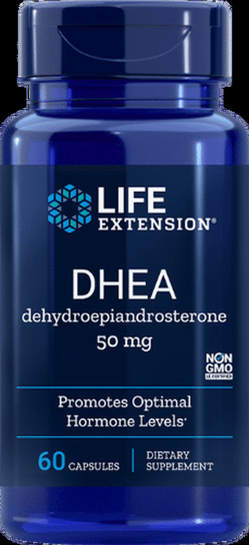 DHEA 50 mg - Life Extension - 60 cápsulas