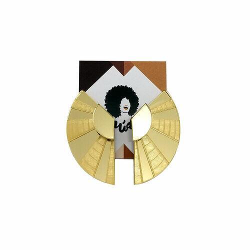 Conjunto Maxi Colar e Brinco Ear Jacket Tiye