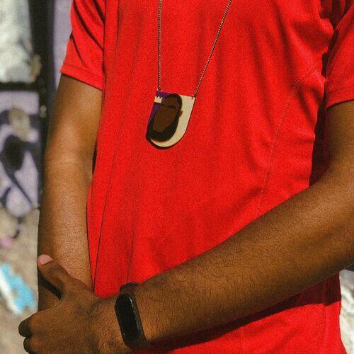 Colar LeBron James Minimalista Saúda Afro